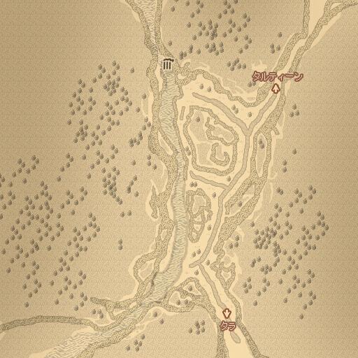 コリブ渓谷