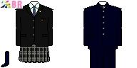 [鹿児島]鹿児島実業高校制服ドット絵
