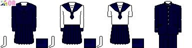 [高知]明徳義塾高等学校制服ドット絵