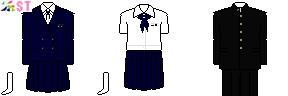 [奈良]天理高校制服ドット絵