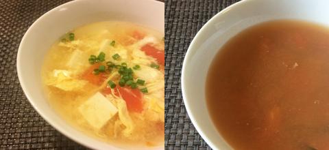 ツナゆで汁スープ