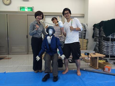 田中さん参上!