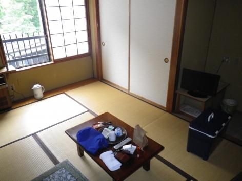 栃尾又温泉 神風舘 部屋2015