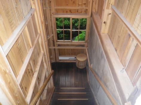 栃尾又温泉 したの湯 通路 2015