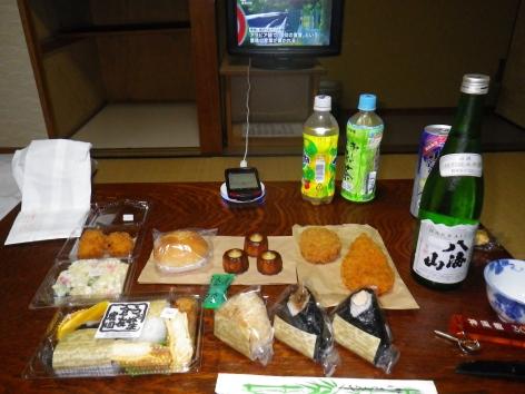 栃尾又温泉 夕食 2015