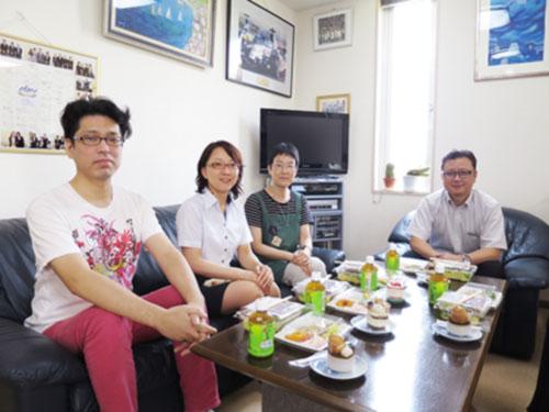 7月の昼食会