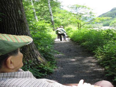 2015-07-10梓川沿いの道
