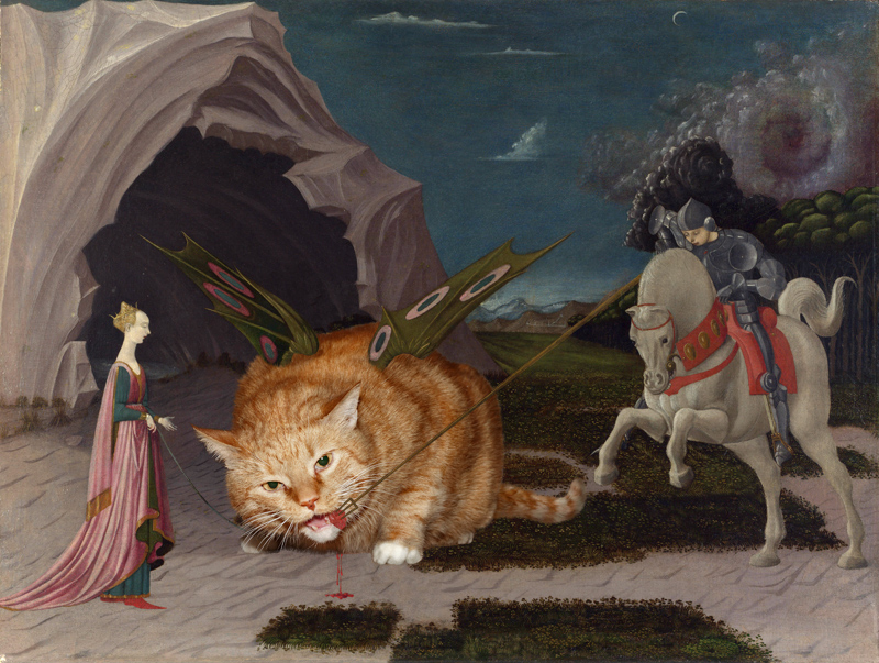Uccello__Saint_George_and_the_Cat_w.jpg