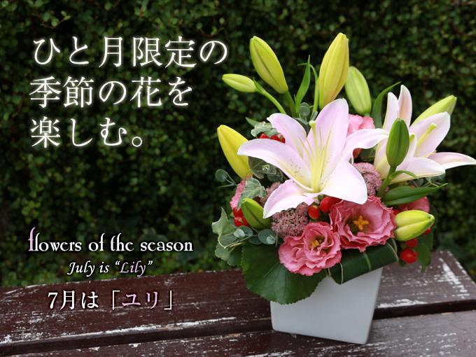 季節 プレゼント 誕生日 花