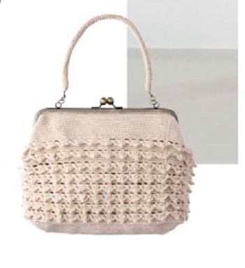 710ピエロハルイロパールラメフリルのバッグ