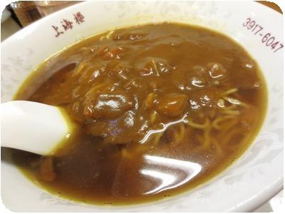 加里麺(カレーそば)