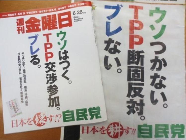 日本人ではないので嘘をつく自民党