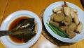 カレイの煮つけ イカと里芋の煮物 20171018