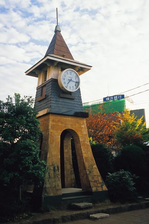 6211鎌倉駅旧駅舎の時計塔