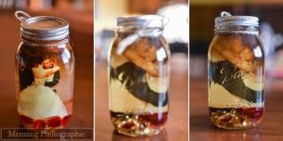 結婚式装飾_瓶の中に写真4