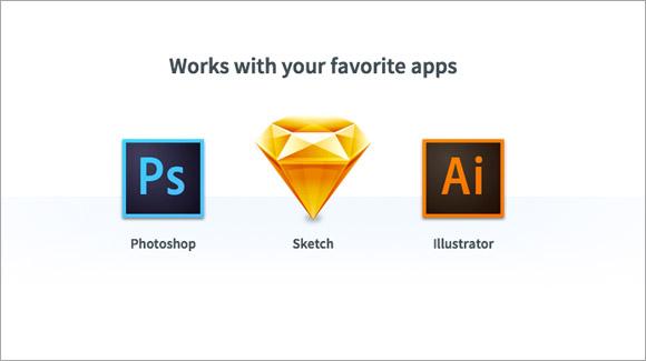 3つのアプリに対応