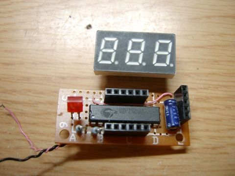 PSoC7segLED電圧計2