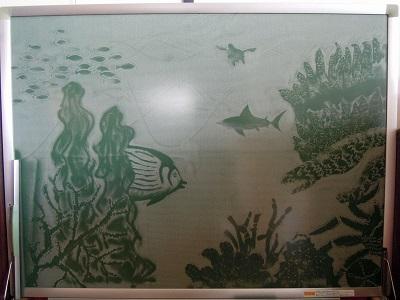 我が家の黒板アート
