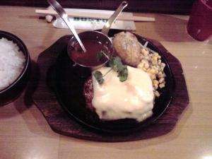 BOSTON 昭和町本店 チーズ焼きハンバーグ