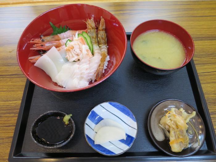 ヤマニ水産 城崎温泉 海鮮丼 どろえび