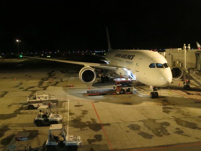 シンガポール チャンギ国際空港 B-787