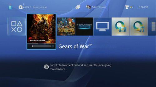 Gears of War on the PS4