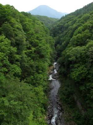 レークライン 中津川渓谷