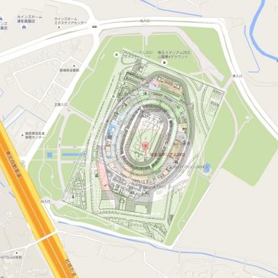 新国立競技場 サイズ さいたまスタジアム