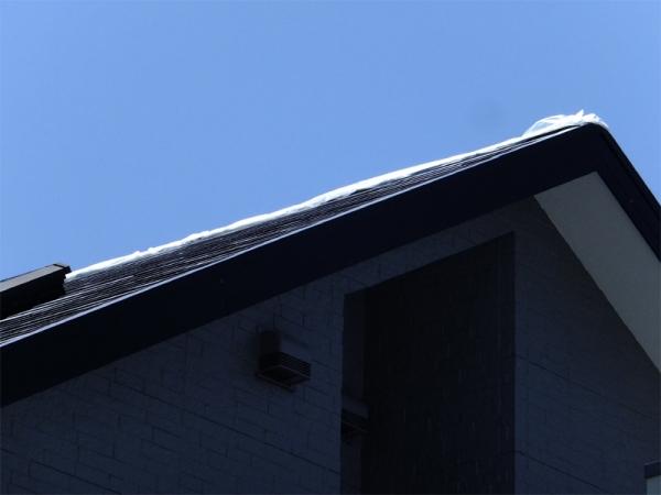 大屋根棟包応急修理