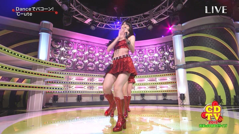 ℃-uteの脚10