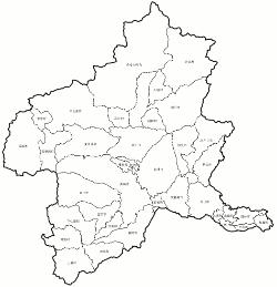 群馬県市町村地図