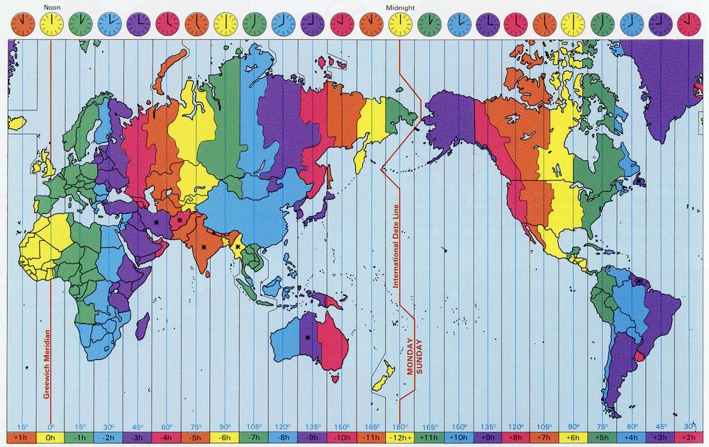 広大な国なのに標準時が一つしかない随一のイカレタ国 : びっくり ...