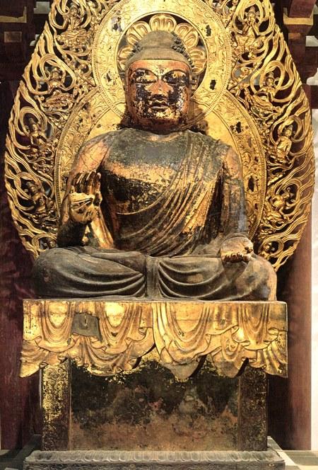 当麻寺・弥勒仏坐像