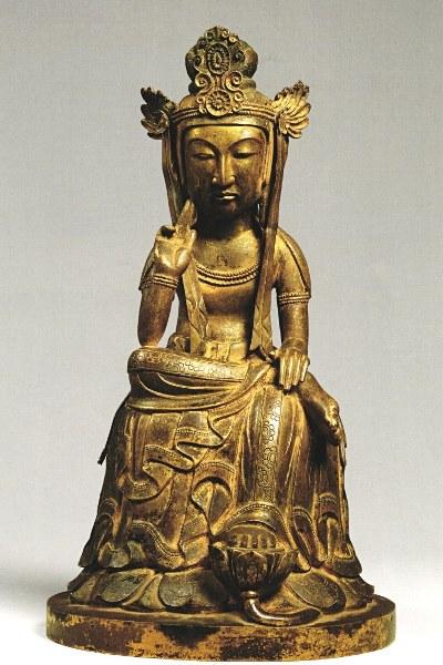 野中寺・弥勒半跏像