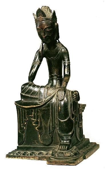法隆寺献納宝物156号・丙寅銘菩薩半跏像
