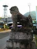 JR琴平駅 狛犬 右