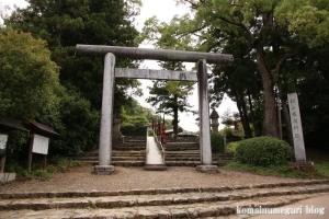 護国神社(松江市殿町)1