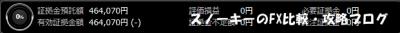 20150801トライオートFX証拠金預託額46万4070円