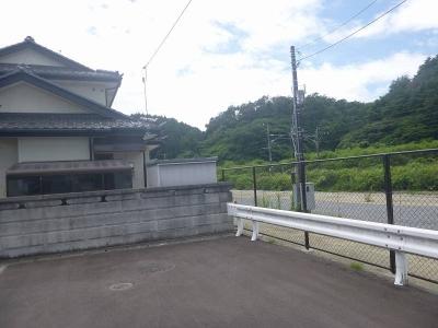松島駅行き止まり