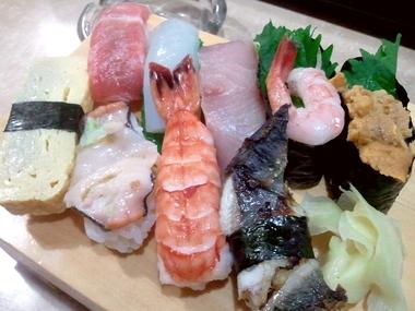 松江市伊勢宮町でお寿司を頂く!寿し浩 んまっ♪