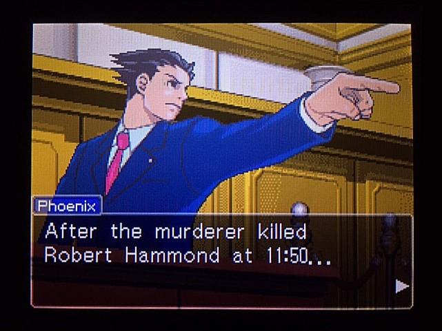 逆転裁判 北米版 本当の殺害現場3