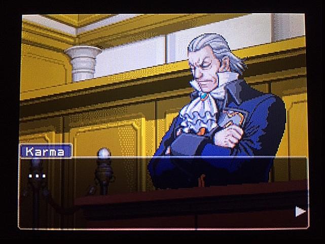 逆転裁判 北米版 ゴード・レイク殺人審理最終日、開廷