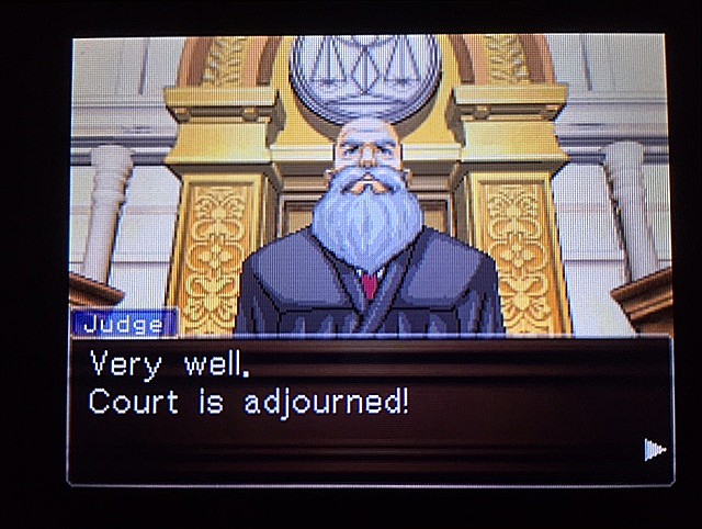 逆転裁判 北米版 しかしまだ謎は残される28