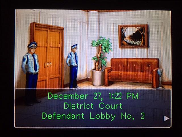 逆転裁判 北米版 エッジワースの悪夢の記憶1