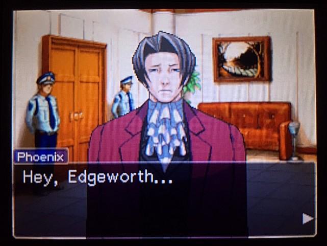 逆転裁判 北米版 エッジワースの悪夢の記憶8