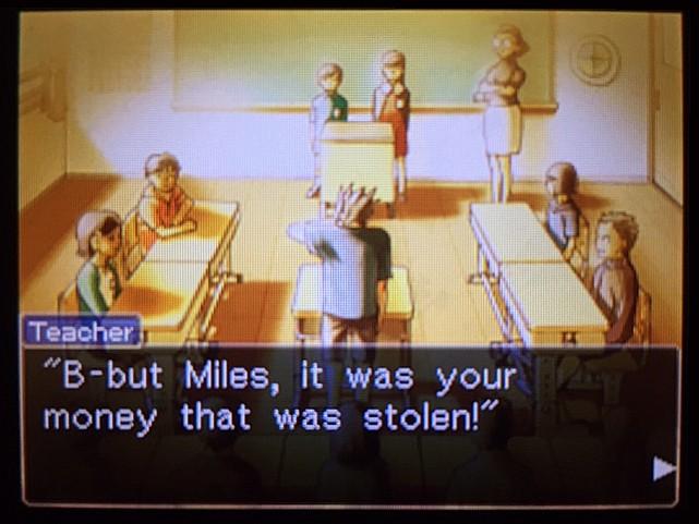 逆転裁判 北米版 ラリーとマイルズとフェニックス36