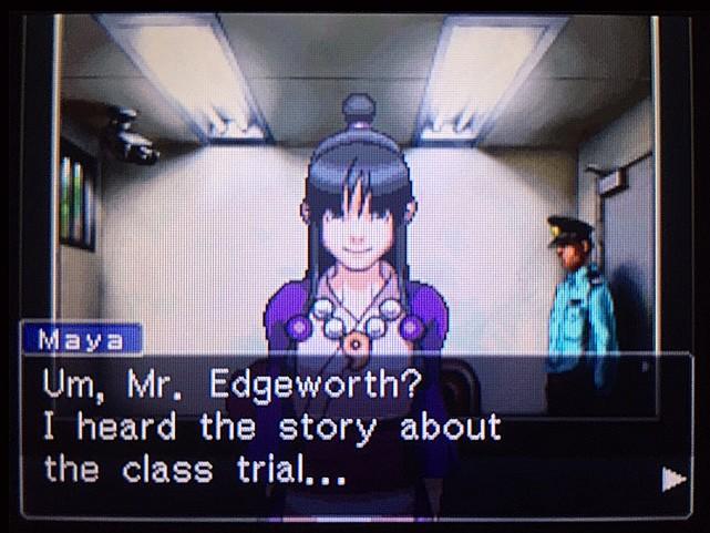 逆転裁判 北米版 エッジワースの過去4
