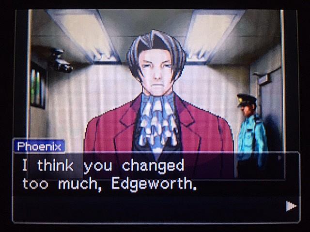 逆転裁判 北米版 エッジワースの過去21