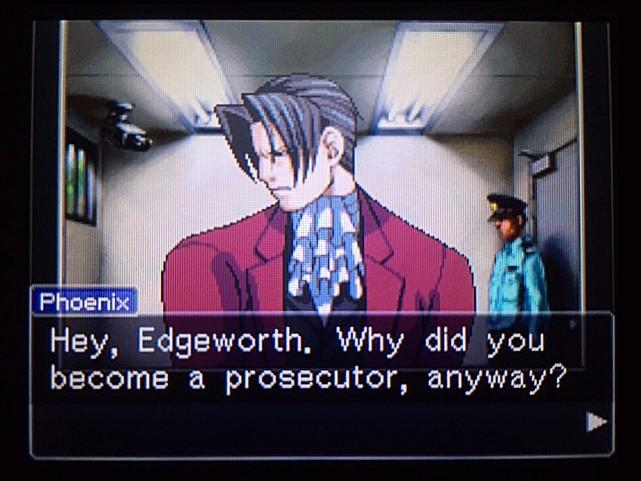 逆転裁判 北米版 エッジワースの過去24