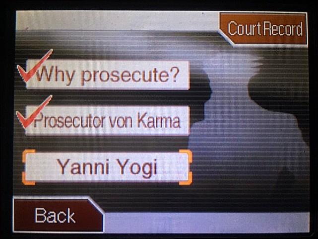 逆転裁判 北米版 かつてのヤニ・ヨギとは?2